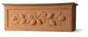 Citrus Fibreglass Terracotta Finish Trough from potstore.co.uk